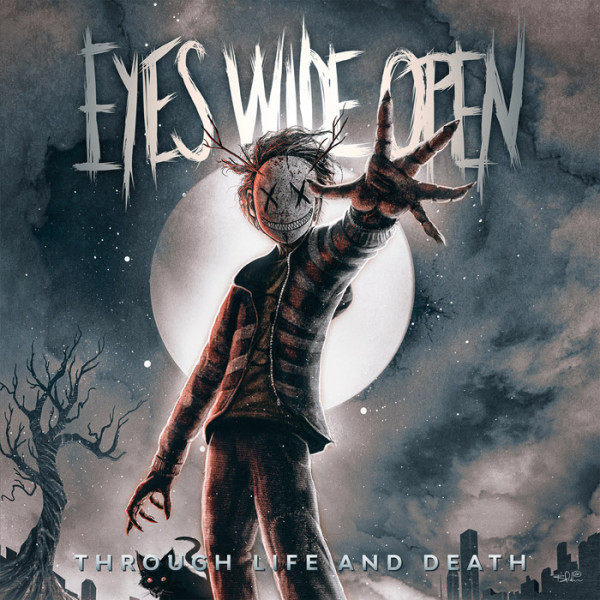 """EYES WIDE OPEN - Through Life and Death 12"""" LP - BLUE"""