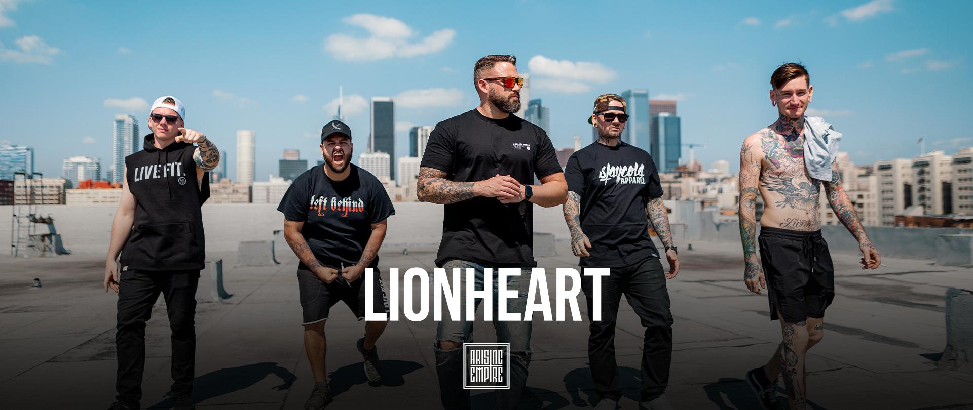 Lionheart at Arising Empire • Offizieller Online Shop