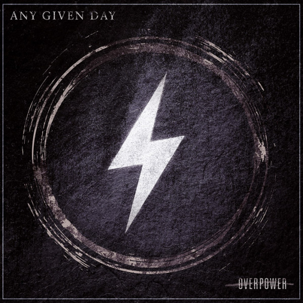 """ANY GIVEN DAY - Overpower 12"""" LP"""