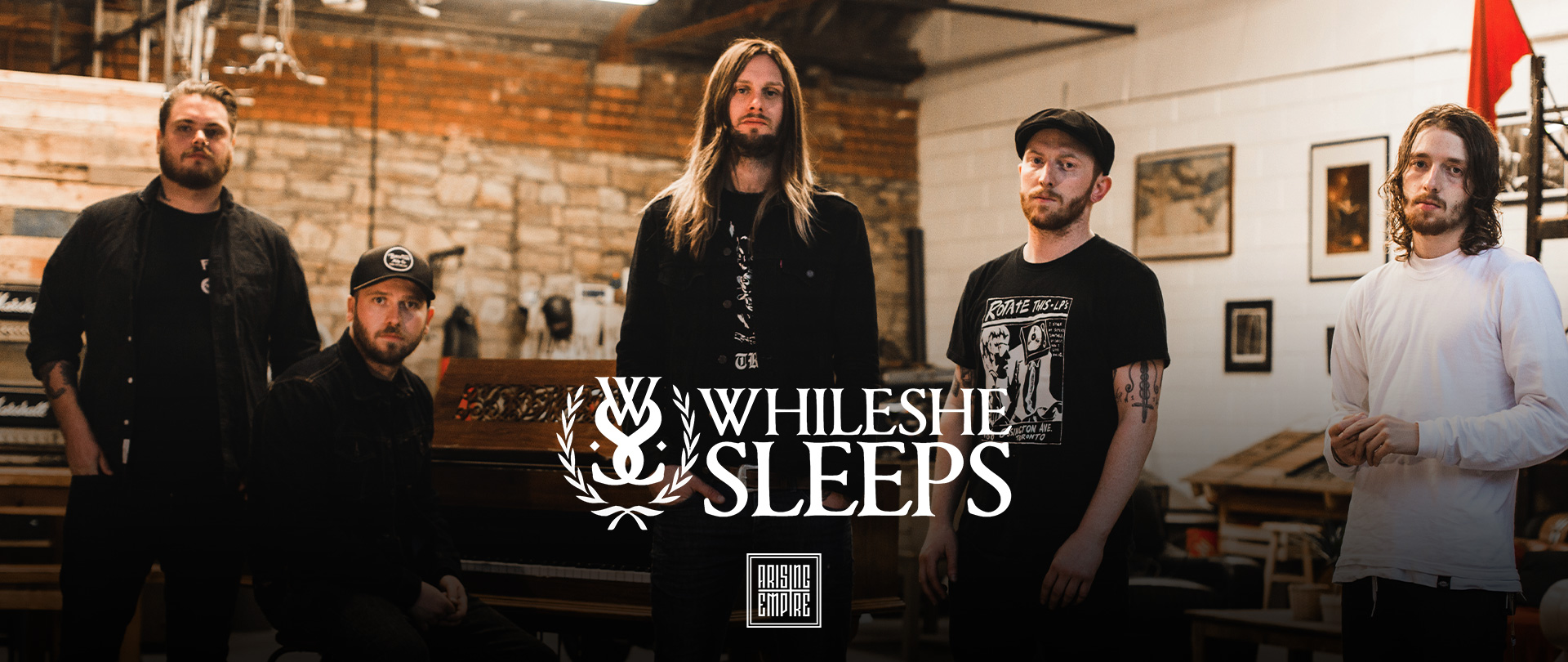 While She Sleeps at Arising Empire • Official Online Shop / EN
